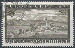1977 AUSTRIA USATO EUROPA - 2 - Europa-CEPT