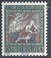 1966 SVIZZERA PRO PATRIA DIPINTI 10 CENT MNH ** - SZ168 - Nuovi