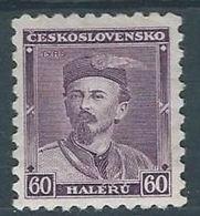 1933 CECOSLOVACCHIA MIROSLAV TYRS MH * - CZ016 - Cecoslovacchia