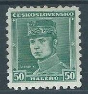 1935 CECOSLOVACCHIA MILAN RASTISLAV STEFANIK MH * - CZ012 - Cecoslovacchia