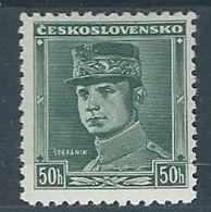 1935 CECOSLOVACCHIA PERSONALITA 50 H MH * - CZ011 - Cecoslovacchia