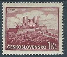 1937 CECOSLOVACCHIA ESPOSIZIONE FILATELICA DI BRATISLAVA 1 KR MH * - CZ008 - Cecoslovacchia