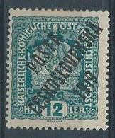 1919 CECOSLOVACCHIA SOPRASTAMPATO 12 H AUSTRIA N.147 MH * - CZ029 - Cecoslovacchia