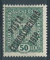 1919 CECOSLOVACCHIA SOPRASTAMPATO 50 H AUSTRIA N.153 MH * - CZ029 - Cecoslovacchia