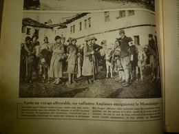1916 LE MIROIR:Infirmières Angl.et Monténégro Héroïque;Marine Turque Germanisée;Gallipoli;Gaba-Tépé;Atelier-grenades;etc - Riviste & Giornali