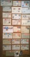 Lot De 26 Enveloppes Et Timbres ARGENTINA / Argentine - Non Classés