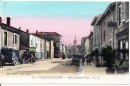 55 - VAUCOULEURS - Rue Jeanne D'Arc - France