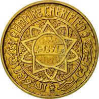 Monnaie, Maroc, 50 Francs, AH 1371/1952, Paris, ESSAI, SPL, Aluminum-Bronze - Morocco