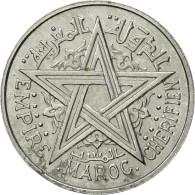 Monnaie, Maroc, 2 Francs, AH 1370/1951, Paris, ESSAI, SUP+, Aluminium, KM:E38 - Morocco