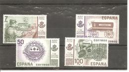 España/Spain-(MNH/**) - Edifil  2637-38, SH2641A-B - 1931-Hoy: 2ª República - ... Juan Carlos I