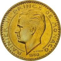 Monnaie, Monaco, Rainier III, 20 Francs, 1950, Paris, ESSAI, SPL+ - Monaco