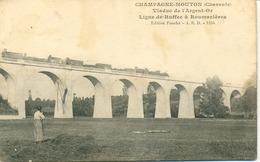 Champagne-Mouton- ( Train Sur ) Le Viaduc De L' Argent-or - Autres Communes