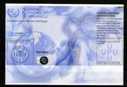 2336 IRC IAS CRI - International Reply Coupon - Antwortschein T34 Gestempelt Norvege Norwegen NO 20100129AC - Norwegen
