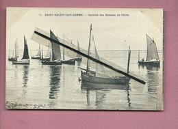 CPA -  Saint Valéry Sur Somme  - Rentrée Des Bateaux De Pêche - Saint Valery Sur Somme