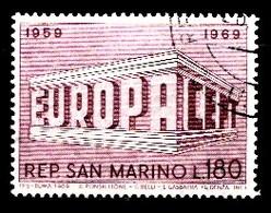 Saint-Marin 1969  Mi.nr.:926  Europa  OBLITÉRÉS / USED / GESTEMPELD - Saint-Marin