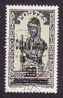 Ivory Coast, Scott #111, Used, Stamps Of Burkina Faso Surcharged, Issued 1933 - Ivory Coast (1892-1944)