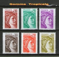 6 Sabines En Gomme Tropicale** - Sammlungen