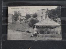 Z25 - 31 - Aulon - Place De La Republique - Edition  Baudillon - Bourdages - 1909 - Autres Communes