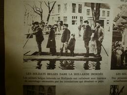 1916 LE MIROIR:Soldats Belges En Hollande Inond;Légion Tchèques;Survivants EMDEM à Constantinople;Esch-sur-Alzette;etc - Riviste & Giornali