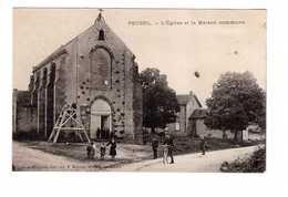 33 Pouzol Eglise Et La Maison Commune - France