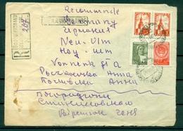 URSS  1958 - Michel N. 1245 II - 1332 I II C - 1335 I II II - Lettre Recommandée - 1923-1991 URSS