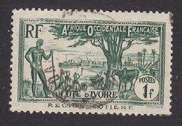 Ivory Coast, Scott #136, Used, Scenes Of Ivory Coast, Issued 1936 - Ivory Coast (1892-1944)