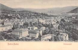 DEUTSCHLAND Allemagne ( Bade Wurtemberg ) BADEN BADEN : Totalsansicht - CPA - Germany - Baden-Baden