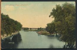 °°° 11954 - UK - THE RIVER OUSE , BEDFORD - 1908 With Stamps °°° - Bedford