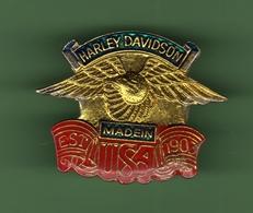 MOTO *** HARLEY-DAVIDSON N°80 *** A011 - Motorbikes