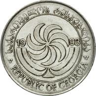 Monnaie, Géorgie, 20 Thetri, 1993, TTB, Stainless Steel, KM:80 - Géorgie