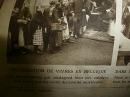 1916 LE MIROIR: Disette En Belgique;Loos;Craonne;Roi Pierre Hartmannswillerkopf;Peintre Lantier;Belges à Lampernisse;etc - Riviste & Giornali