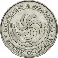 Monnaie, Géorgie, 20 Thetri, 1993, TTB, Stainless Steel, KM:80 - Georgia