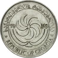 Monnaie, Géorgie, 10 Thetri, 1993, TTB, Stainless Steel, KM:79 - Géorgie