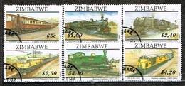 ZIMBABWE /Oblitérés/Used/1997 - Centenaire Du Chemin De Fer Au Zimbabwe - Zimbabwe (1980-...)