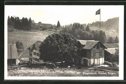 AK Bürgenstock, Partie An Der Pension Trogen - AR Appenzell Outer-Rhodes