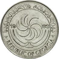 Monnaie, Géorgie, 5 Thetri, 1993, TTB, Stainless Steel, KM:78 - Géorgie