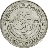 Monnaie, Géorgie, 5 Thetri, 1993, TTB, Stainless Steel, KM:78 - Georgia