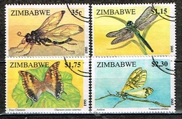 ZIMBABWE /Oblitérés/Used/1995 - Insectes - Zimbabwe (1980-...)