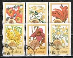 ZIMBABWE /Oblitérés/Used/1996 - Flore Arbustive Indigéne - Zimbabwe (1980-...)