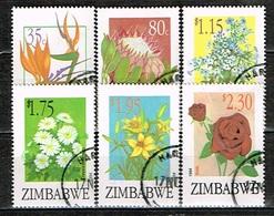 ZIMBABWE /Oblitérés/Used/1994 - Exportations De Fleurs - Zimbabwe (1980-...)
