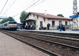 - 40 - Saint Vincent De Tyrosse (40) - Carte Postale Moderne - SNCF La Gare - Saint Vincent De Tyrosse