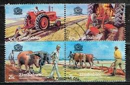ZIMBABWE /Oblitérés/Used/1983 - 30 éme Concours Mondial De Labourage - Zimbabwe (1980-...)