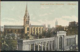 °°° 11964 - SCOTLAND - ABERDEEN , EAST AND WEST CHURCHES °°° - Aberdeenshire