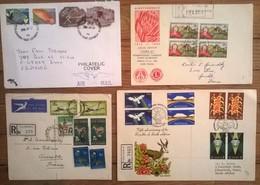Lot De 9 Enveloppes Et Timbres AFRIQUE DU SUD / South Africa - Afrique Du Sud (1961-...)