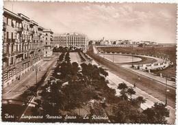 X4045 Bari - Lungomare Nazario Sauro - La Rotonda - Panorama / Viaggiata 1948 - Bari