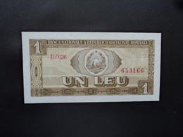 ROUMANIE : 1 LEU   1966     P 91a      NEUF - Romania