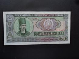 ROUMANIE : 25 LEI   1966     P 95a      SUP - Romania