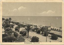 X4050 Grottammare (Ascoli Piceno) - Viale A Mare - Panorama / Viaggiata 1952 - Italia