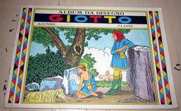 ALBUM DA DISEGNO GIOTTO VINTAGE USATO - Old Paper