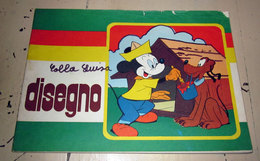 ALBUM DA DISEGNO DISNEY VINTAGE USATO - Old Paper